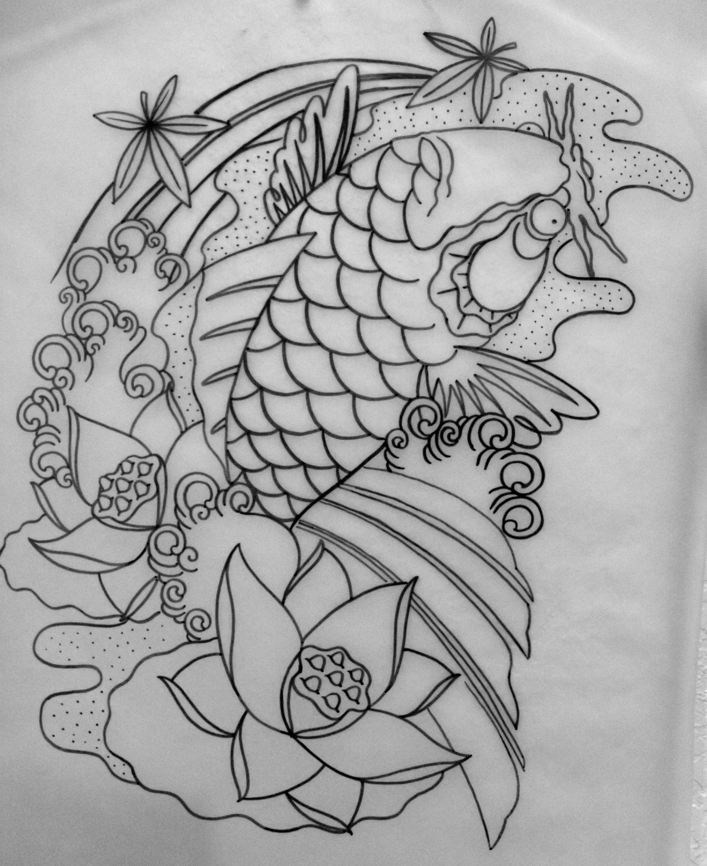 Koi tattoo Tattoo on