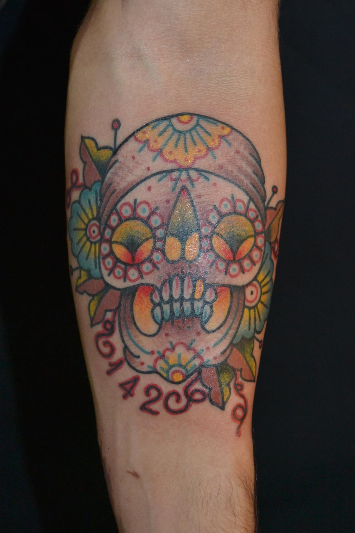 Tattoos candy skulls for Sugar candy skulls tattoos