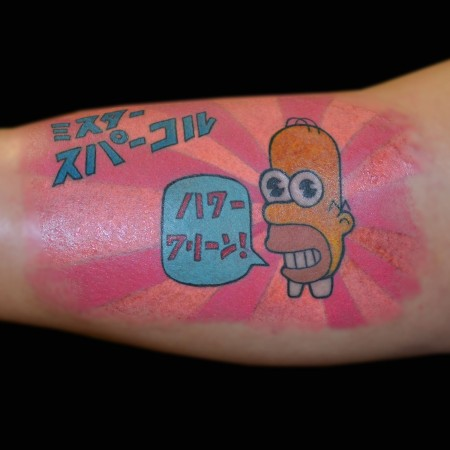 Mr. Sparkle Tattoo