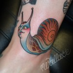 Snail Tattoo