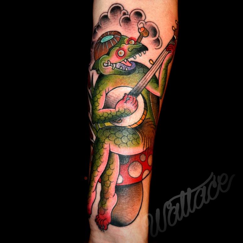 z Banjo Cappa Tattoo