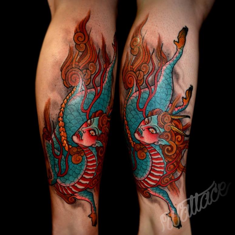 Z Kirin Color Tattoo